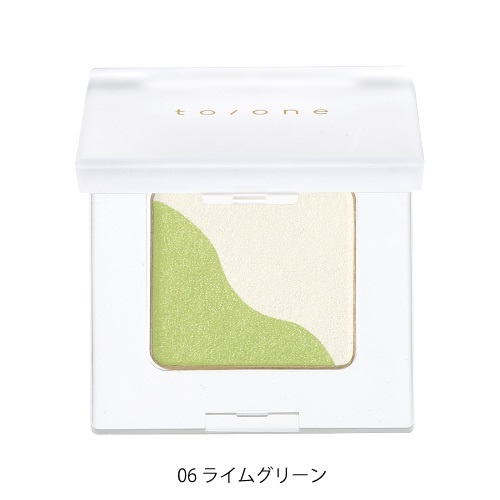 【to/one】ペタル アイシャドウ<全19色>(06:ライムグリーン - 06:Lime green)